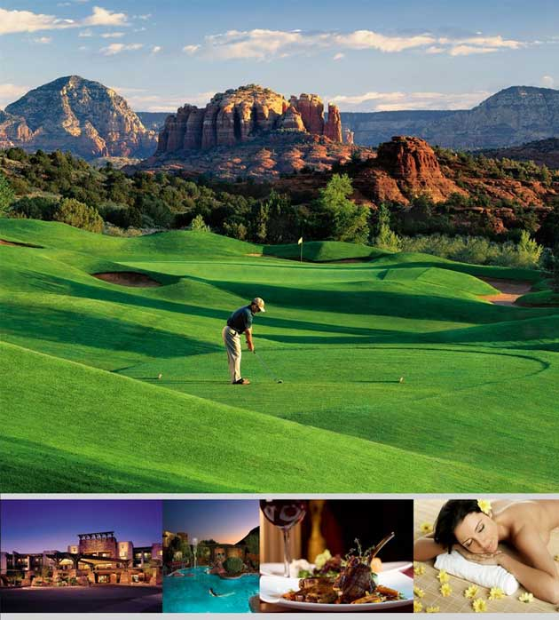 Hilton Sedona - Phoenix Scottsdale Golf Vacations