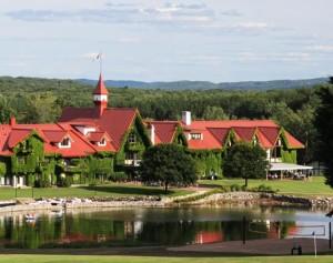 The Main Lodge at Boyne Highlands Resort. Photo courtesy of Boyne Highlands Resort.