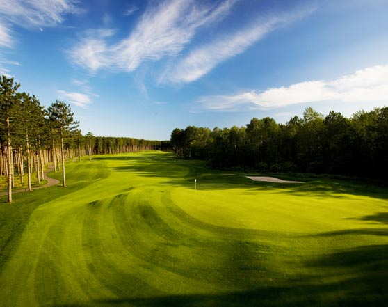 Arthur Hills course at Boyne Highlands Resort. Photo courtesy of Boyne Highlands Resort.