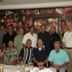 Mike poses with the Golfest group in Chicago in 2009.