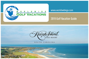 Golf Vacation Guide 2018